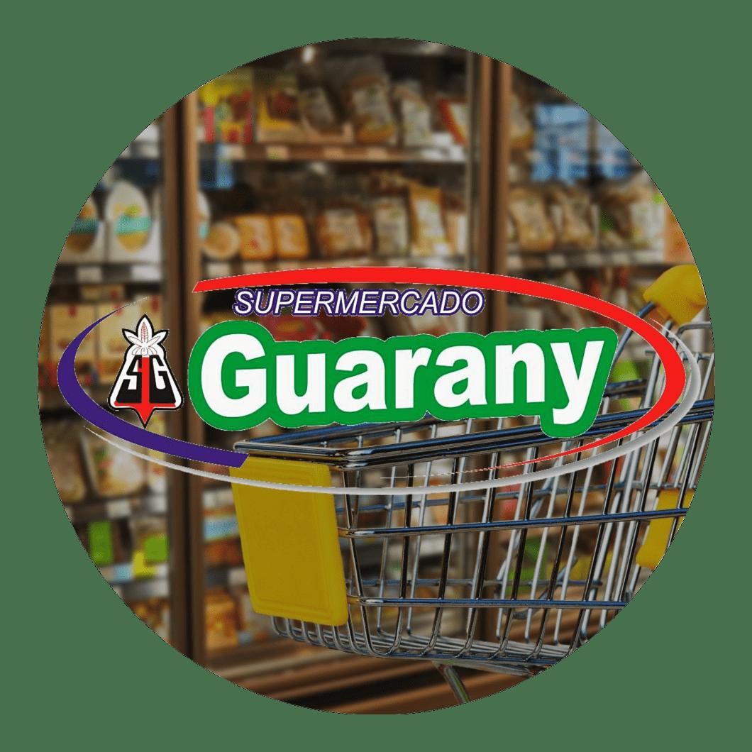 logotipo supermercado guarany